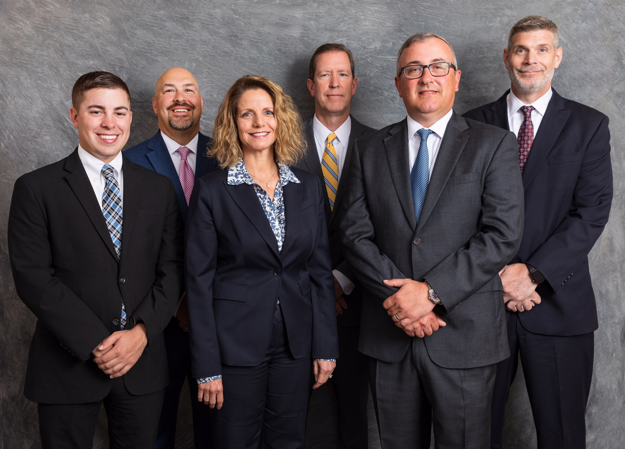 From left to right: Douglas Krapf, Alexander Shannon, Matthew Shannon, john Shannon, James Barsella, Sharon Whitacre and David Wohlabaugh